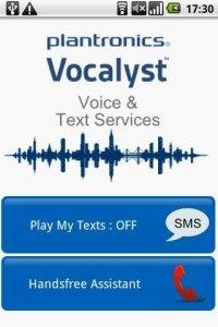 Vocalyst Smartphone App